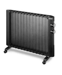 DeLonghi HMP 2000 Wärmewelle Heizgerät (Für Räume bis zu 60 m³, 2000 Watt) schwarz -
