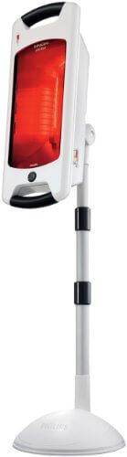 Philips InfraCare Rotlampe, Behandlung einer Körperhälfte HP3643/01, 650 Watt -